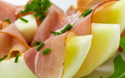 Melone Proscuitto di Parma Insalata
