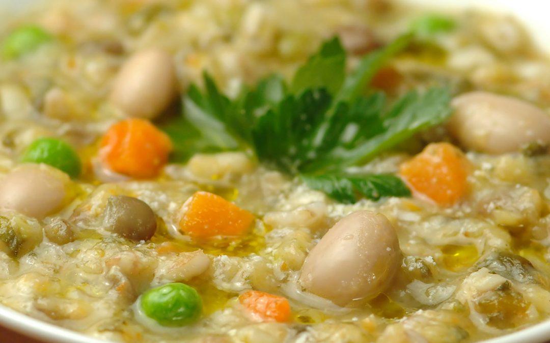 Zuppa di Fagioli Verdura